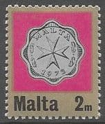 Malta 1972 Decimal Currency Coins SG 467 Fine Mint