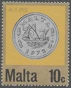 Malta 1972 Decimal Currency Coins SG 473 Fine Mint