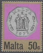 Malta 1972 Decimal Currency Coins SG 474 Fine Mint