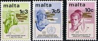 Malta 1973 Anniversaries Set Fine Mint