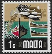Malta 1973 SG 490 Fishing Industry Fine Mint