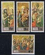 Malta 1976 Christmas Set Fine Mint