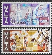 Malta 1976 Europa Set Fine Used