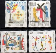 Malta 1976 Maltese Folklore Set Fine Mint