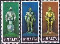 Malta 1977 Suits of Armour Set Fine Mint