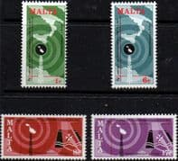 Malta 1977 World Telecommunications Day Set Fine Mint