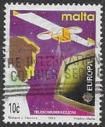 Malta 1991 Europa Europe in Space SG 888 Fine Used