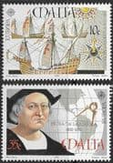 Malta 1992 Europa Columbus Set Fine Mint