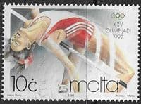 Malta 1992 Olympic Games SG 925 Fine Used