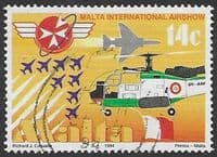 Malta 1994  Aviation Anniversaries and Events SG 970 Fine Used