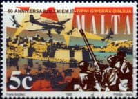 Malta 1995 50th anniv of end of Second World War SG 989 Fine Used