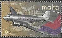 Malta 2000 Century of Air Transport SG 1178 FineUsed