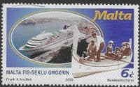 Malta 2000 During the 20th-century SG 1166 FineUsed