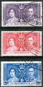 Mauritius 1937 King George VI Coronation Set Fine Used