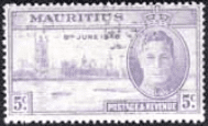 Mauritius 1946 King George VI Victory SG 264 Fine Mint