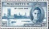Mauritius 1946 King George VI Victory SG 265 Fine Mint