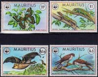 Mauritius 1978 Endangered Species Set Fine Mint