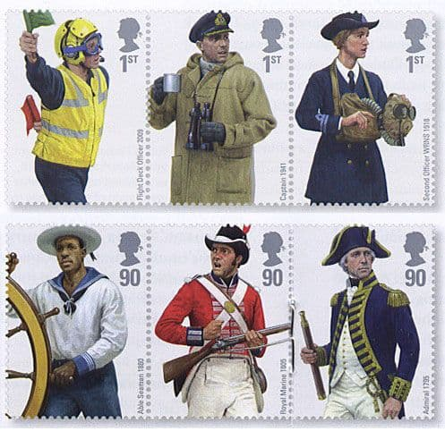 Military on Stamps
