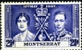 Montserrat 1937 King George VI Coronation SG 100 Fine Mint
