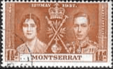 Montserrat 1937 King George VI Coronation SG 99 Fine Used