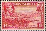 Montserrat 1938 King George VI SG 102a Sea Island Cotton Fine Mint