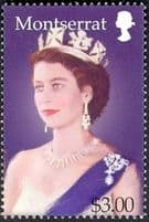 Montserrat Stamps of Queen Elizabeth II 1953 -