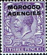 Morocco Agencies British Currency 1914  SG 46 Fine Mint
