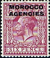 Morocco Agencies British Currency 1925  SG 60 Fine Mint