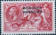 Morocco Agencies British Currency 1935  SG 74 Fine Mint