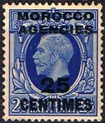Morocco Agencies French Currency 1935 SG 219 King George V Fine Mint