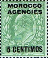 Morocco Agencies Spanish Currency 1907 SG 112 Fine Mint