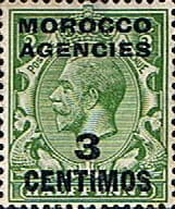 Morocco Agencies Spanish Currency 1914 SG 128 Fine Mint