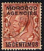 Morocco Agencies Spanish Currency 1914 SG 131 Fine Used
