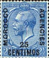 Morocco Agencies Spanish Currency 1914 SG 133 Fine Mint