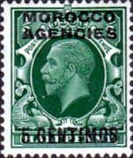 Morocco Agencies Spanish Currency 1935 SG 153 George V Head Fine Mint