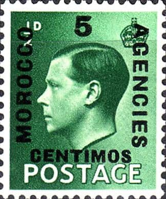 Stamps Stamp Morocco Agencies Spanish Currency 1936 Edward VIII Set Fine Mint SG 160 Scott 78