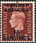 Morocco Agencies Spanish Currency 1937 SG 167 King George VI Fine Mint