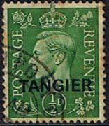 Morocco Agencies TANGIER 1944 SG 251 King George VI Fine Used