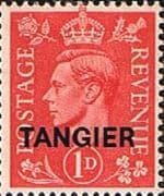Morocco Agencies TANGIER 1944 SG 252 King George VI Fine Mint