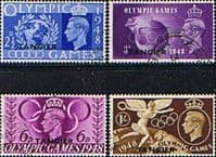 Morocco Agencies TANGIER 1948 Olympic Games Set Fine Used
