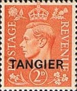 Morocco Agencies TANGIER 1949 SG 261 King George VI Fine Mint