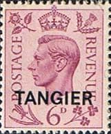 Morocco Agencies TANGIER 1949 SG 266 King George VI Fine Mint