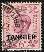 Stamps Stamp Morocco Agencies TANGIER 1949 SG 266 King George VI Fine Used Scott 536