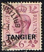 Morocco Agencies TANGIER 1949 SG 266 King George VI Fine Used