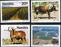 Namibia 1990 Farming Set Fine Mint
