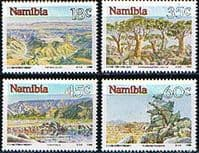 Namibia 1990 Landscapes Set Fine Mint