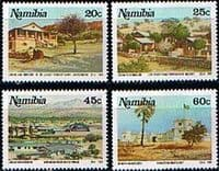 Namibia 1991 Tourist Camps Set Fine Mint