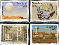 Namibia 1991 Weather Service Set Fine Mint