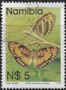 Namibia 1993 Butterflies SG 635 Fine Used
