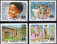 Namibia 1993 S O S Child Care Set Fine Mint
